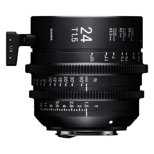 Sigma 24mm T1.5 FF Monture E - Objectif Prime
