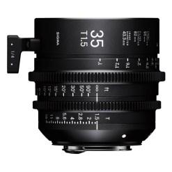 OBJECTIF SIGMA 35MM T1.5 FF F/VE (82mm) Sony E