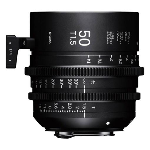 Sigma 50mm T1.5 FF (Canon EF) - Objectif Prime Cinéma