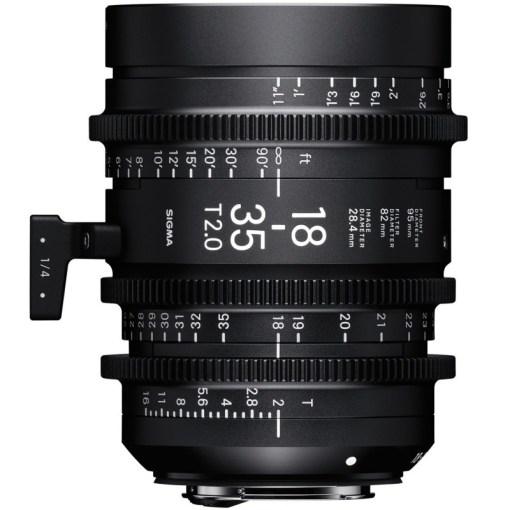 OBJECTIF SIGMA 18-35MM T2 F/AP (82mm) PL