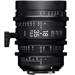 Sigma 18-35mm T2 (Canon EF) - Objectif Zoom Cinéma