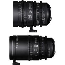 Sigma 18-35mm + 50-100mm (Canon EF) - Kit Objectif Zoom Cinéma