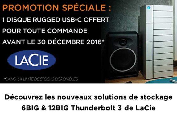 Nouvelles solutions de stockage Raid Thunderbolt de LaCie