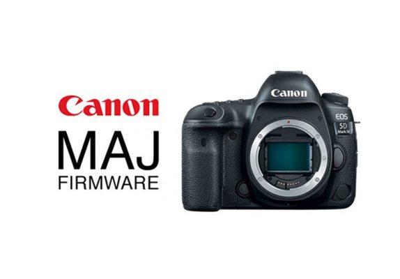 Une mise à jour payante pour Canon EOS 5D Mark IV