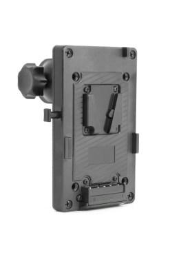 Support V-Mount avec clamp pour pied d'éclairage FIILEX FLXA080