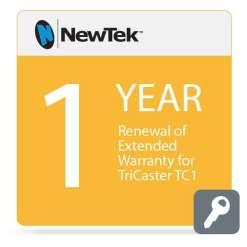 Extension de garantie pour  TriCaster TC1 & TC1 R3 1 An