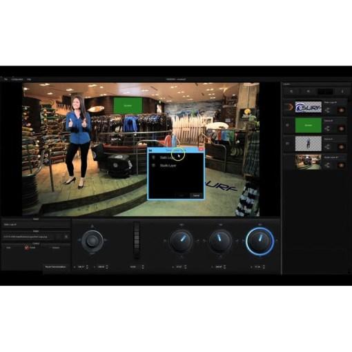 STUDIO VIRTUEL DATAVIDEO TVS-1200A