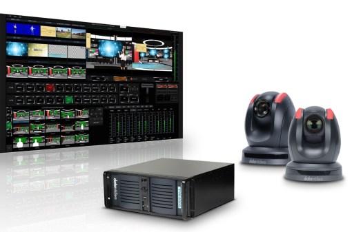 STUDIO VIRTUEL COMPLET DATAVIDEO TVS-2000A