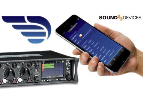 Téléchargez l'application Wingman par Sound Devices
