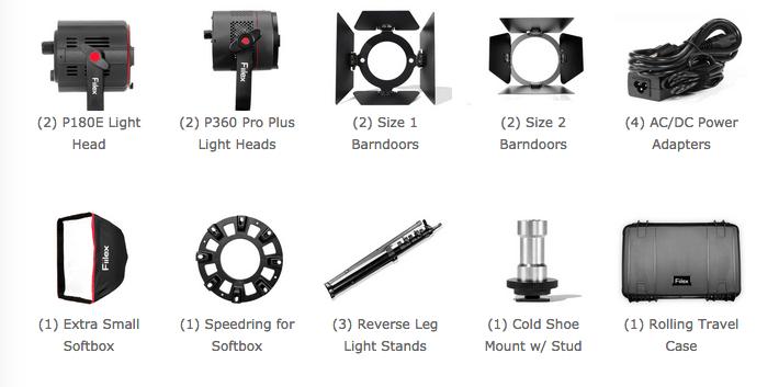 Fiilex 411 Pro Plus - kit d'éclairage