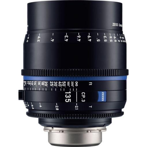 ZEISS CP.3 135mm T2.1 Monture EF Métrique - Objectif Prime Cinéma
