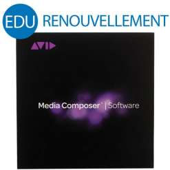RENOUVELLEMENT AVID MEDIA COMPOSER EDU 1 AN