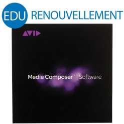 RENOUVELLEMENT AVID MEDIA COMPOSER EDU 1 AN