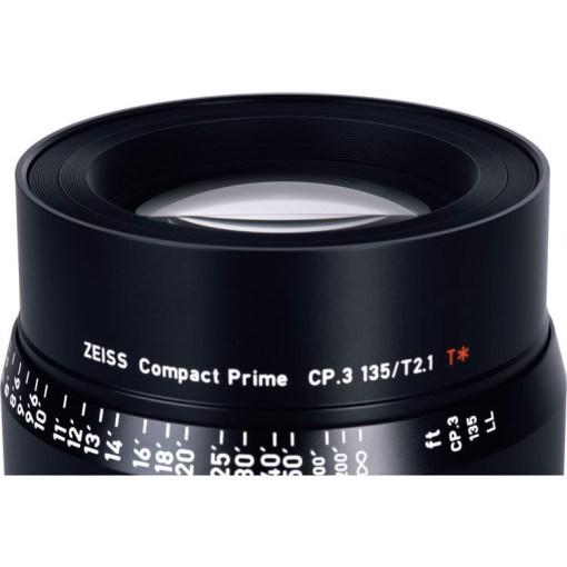 OPTIQUE ZEISS CP3 135MM T2.1 MONTURE PL IMPERIAL