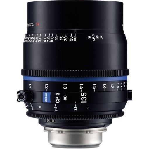 ZEISS CP.3 135mm T2.1 Monture PL Impérial XD eXtended D - Objectif Prime