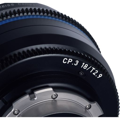 ZEISS CP.3 15mm T2.9 Monture PL Métrique - Objectif Prime