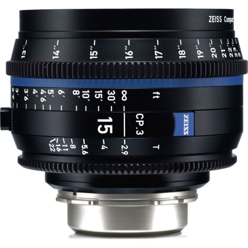 ZEISS CP.3 15mm T2.9 Monture E Métrique - Objectif Prime
