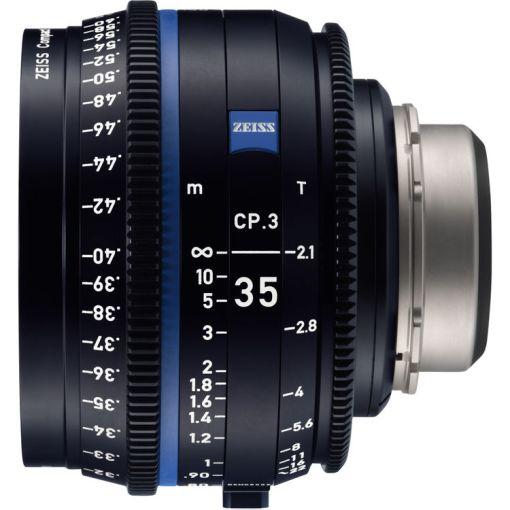 ZEISS CP.3 35mm T2.1 Monture E Métrique - Objectif Prime