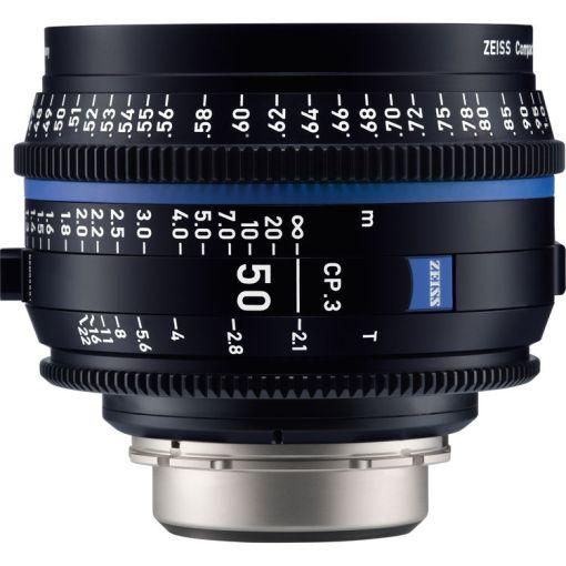 ZEISS CP.3 50mm T2.1 (Sony E, métrique) - Objectif Prime Cinéma
