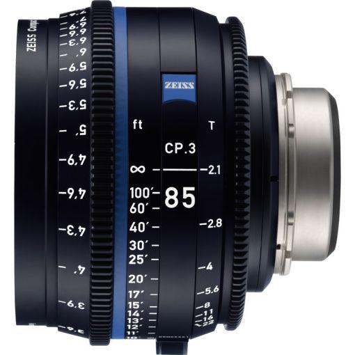 ZEISS CP.3 85mm T2.1 Monture E Impérial - Objectif Prime