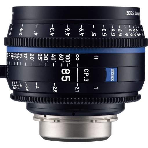 ZEISS CP.3 85mm T2.1 (Canon EF, imperial) - Objectif Prime Cinéma