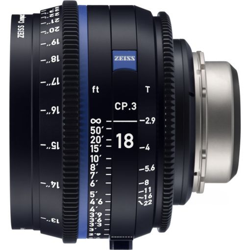 OPTIQUE ZEISS CP3 18mm T2.9 MONT EF METRIQUE