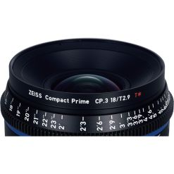 OPTIQUE ZEISS CP3 18mm T2.9 MONT F IMPERIAL