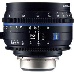 ZEISS CP.3 21mm T2.9 Monture PL Métrique - Objectif Prime
