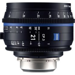ZEISS CP.3 21mm T2.9 (Canon EF, imperial) - Objectif Prime Cinéma