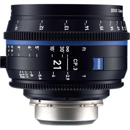 ZEISS CP.3 21mm T2.9 Monture EF Métrique - Objectif Prime
