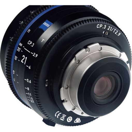 ZEISS CP.3 21mm T2.9 Monture F Métrique - Objectif Prime