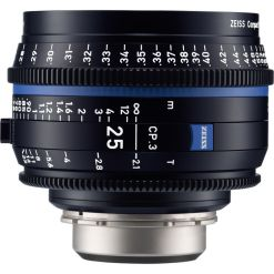 OPTIQUE ZEISS CP3 25mm T2.1 MONT PL METRIQUE