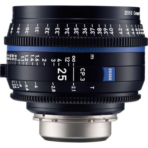 OPTIQUE ZEISS CP3 25mm T2.1 MONT MFT METRIQUE