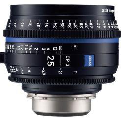 ZEISS CP.3 25mm T2.1 (Canon EF, métrique) - Objectif Prime Cinéma