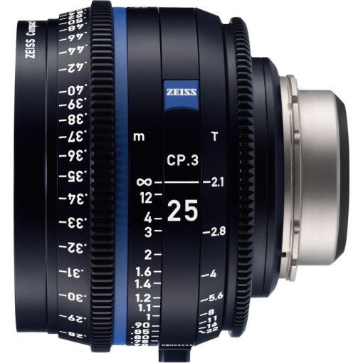 ZEISS CP.3 25mm T2.1 Monture E Impérial - Objectif Prime