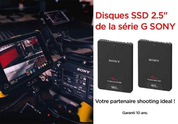 Disques Sony SSD professionnel 2.5