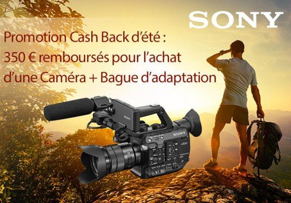 Promotion CashBack Sony FS5 & FS7