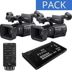 PACK MELANGEUR SONY MCX-500 + 2 CAMERAS PXW-Z150 + RM-30BP