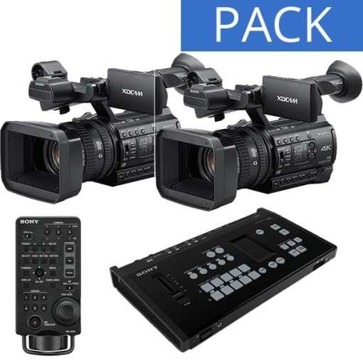 PACK MELANGEUR SONY MCX-500 & 2 CAMERAS PXW-Z150 + RM-30BP
