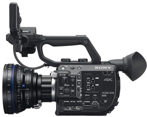 Camera sony pxw-fs5k avec optique et upgrade raw