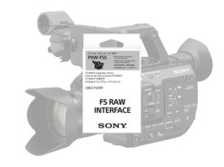 UPGRADE CBKZ-FS5RIF RAW POUR SONY PXW FS5