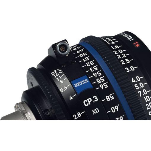 ZEISS CP.3 28mm T2.1 (PL, métrique) XD - Objectif Prime Cinéma