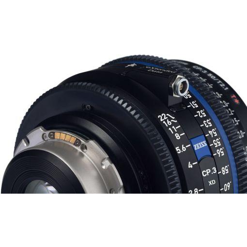 ZEISS CP.3 28mm T2.1 Monture PL Métrique XD - Objectif Prime