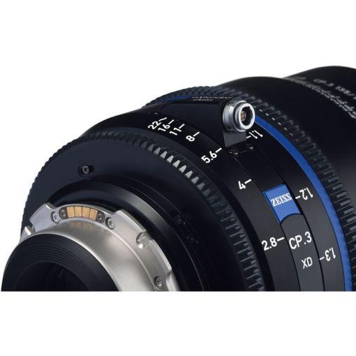 ZEISS CP.3 28mm T2.1 Monture PL Impérial XD - Objectif Prime