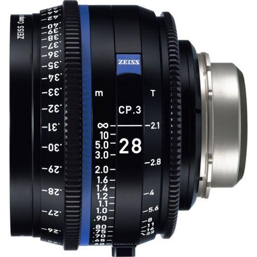 ZEISS CP.3 28mm T2.1 Monture EF Impérial - Objectif Prime