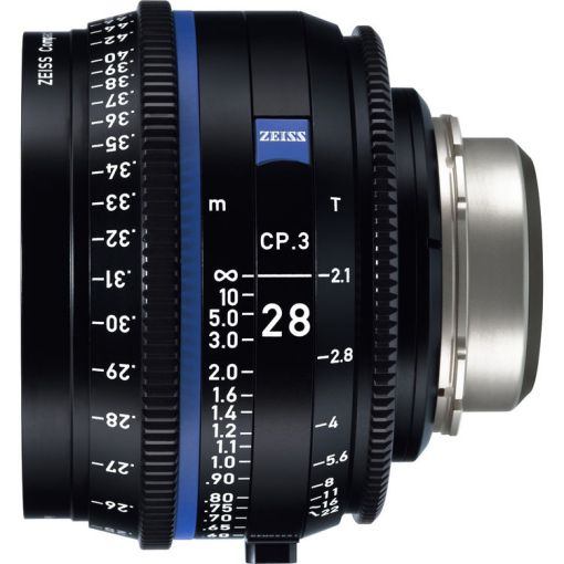 ZEISS CP.3 28mm T2.1 Monture MFT Impérial - Objectif Prime
