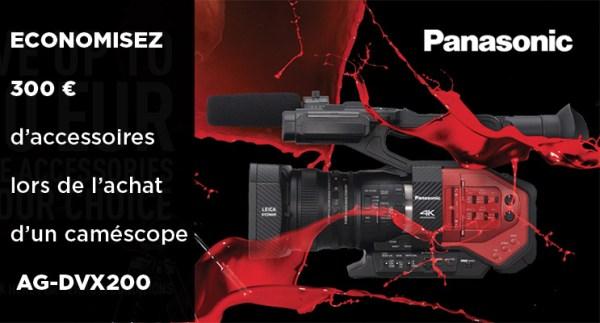 Offre Panasonic AG DVX200