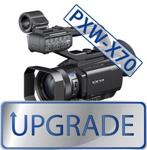 Mise à jour des PXW-X70 et PXW-X200