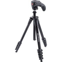 TREPIED MANFROTTO MKCOMPACTACN-BK