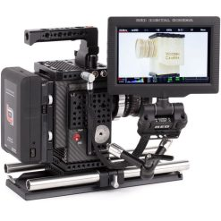 CABLE RED POGO M/F LCD/EVF (WEAPON/SCARLET-W/RAVEN) 30CM